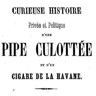 Dialogue pipe / cigare